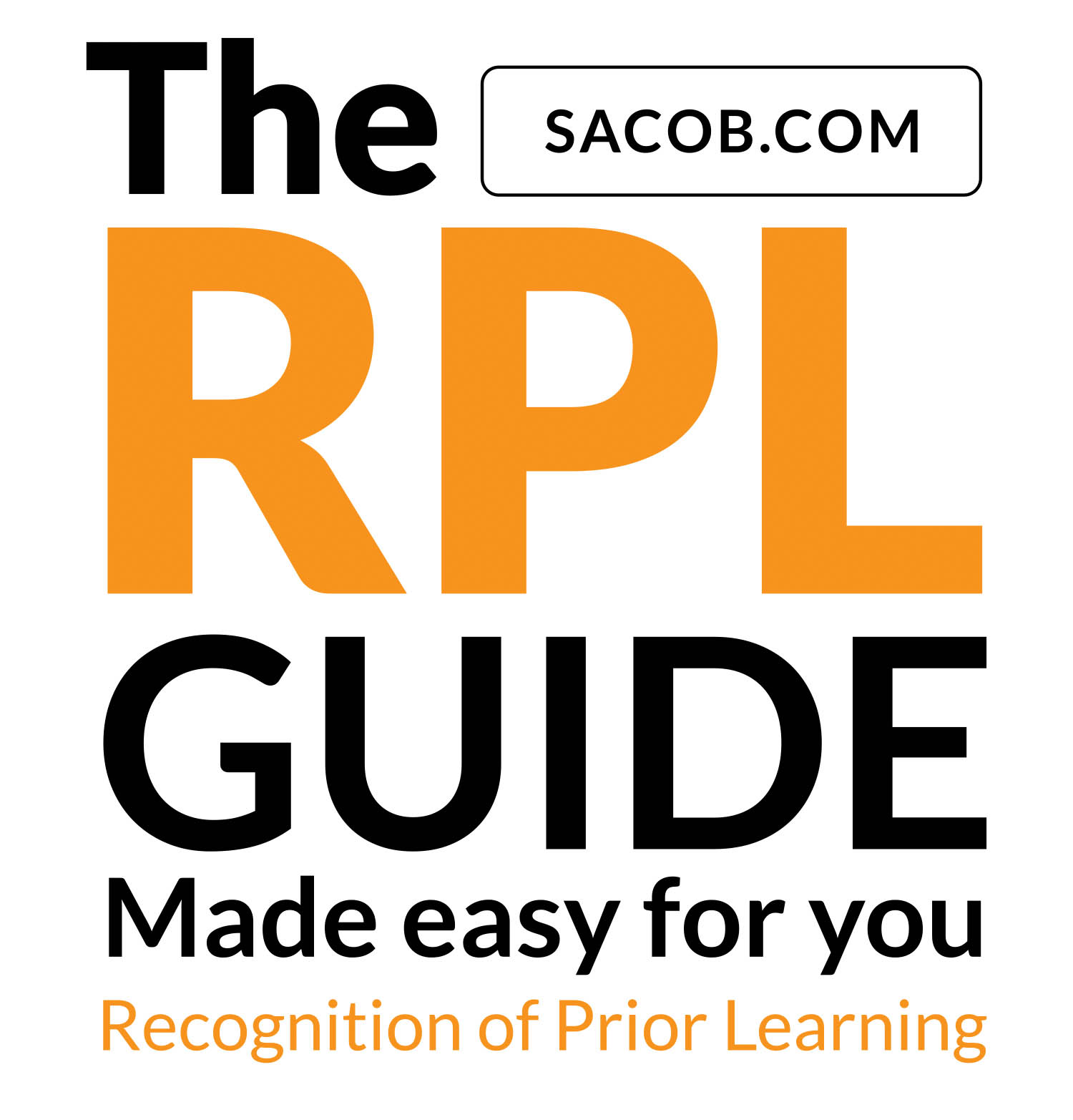 Recognition of Prior Learning Logo RPL Application RPL Guide RPL form RPL Application RPL University College Matric